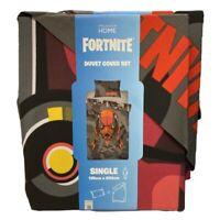 Official FORTNITE Licensed Single Duvet Cover Set - 135cm X 200cm Summer 20' NEW