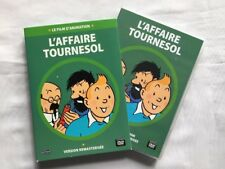 TINTIN DVD L AFFAIRE TOURNESOL FILM ANIMATION / HERGE / MOULINSART CITEL BD