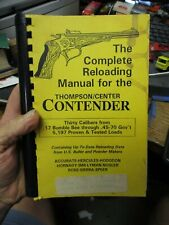 New listing The Complete Reloading Manual for the Thompson/Center Contender 1992