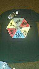 Para hombre/niños juego de tronos Camiseta, Talla M, nuevo con etiquetas.