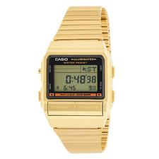 Casio Men's DB380G-1DF Gold Tone Stainless Steel Quartz Watch with Digital