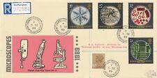 More details for 5 september 1989 microscopes philart first day cover woolaston cds