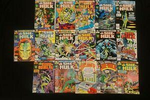 MARVEL COMICS LOT OF 16 SHE-HULK COMICS (2)