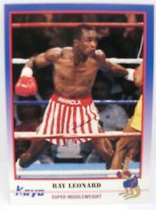 Sugar Ray Leonard 1991 kayo  boxing card #90