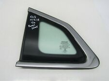 NISSAN QASHQAI J11 2014-17 NEARSIDE/LEFT REAR QUARTER PANEL WINDOW GLASS   #2590