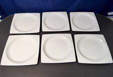 Wedgwood Tableware Bone China Plato Set 6 square plate / piatti quadrati NEW