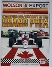 Official MOLSON Formula 1 Canada Grand Prix history program 1990 - ST2003001118
