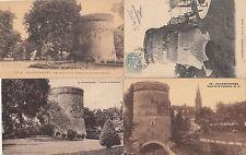 Lot 4 cartes postales ancienne VALENCIENNES tour dodenne