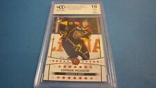 2015 ITG CHL Draft #11 Connor McDavid Rookie Card Graded BCCG 10