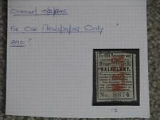 Great Britain, Maryport & Carlisle, For 1 Newspaper Only, 1890