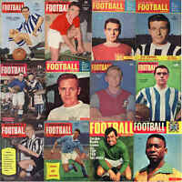 Charles Buchan Football Monthly Magazine Player Pictures Various Teams S to Y