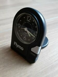 Flymo - Travel Alarm Clock - Promotional Item with Case & instructions