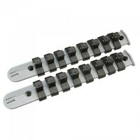SILVERLINE SOCKET STORAGE RAIL SET 2PCE 3/8″