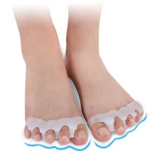 1 Pair Toe Separator Spreader Correction Bunion Hallux Valgus Pain Relief New