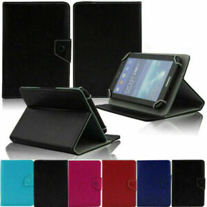 """Folio Leather Case Cover Stand For Universal Android Tablet  7"""" 8"""" 10"""""""