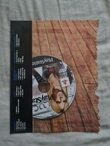 Official US Playstation Magazine DEMO DISC DVD 59 SCUS 97185 OPM PSM New Sealed