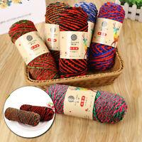 DIY Handicrafts Chenille DK Yarn Velvet Thread for Sweater Scarf Hat 28Colors