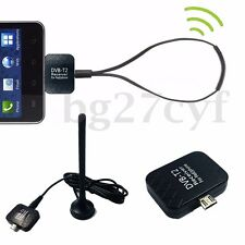 OTG Micro USB DVB-T/T2 DTV Digital Mobile TV Receiver Tuner Stick For Android