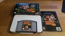 Donkey Kong 64 Nintendo 64 N64 Boxed CIB OVP PAL