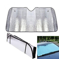 130*60cm Foldable Car Windshield Sun Visor Cover Sun Shade Anti UV Protector