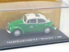 VW VOLKSWAGEN COX TAXI MAXICO VERT / BLANC 1985 1/43
