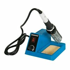Soldering Station Electric 5-48W Solder Iron & Stand Adjustable Unit 150–480°C