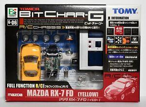 TOMY R/C Bit Char-G Tomica -MAZDA RX-7 FD- 45 Mhz
