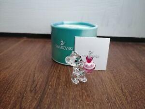 RARE SWAROVSKI KRIS BEAR PINK CUPCAKE FIGURINE 5051769 BRAND/NEW
