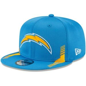 2021 Los Angeles Chargers New Era 9FIFTY NFL Snapback Sideline On Field Hat Cap