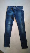 Para mujer stradivarius Demin Blue Jeans de pierna euro 38 EE. UU. 6 30 pulgadas