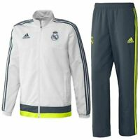 Adidas Real Madrid Präsentationsanzug Trainingsanzug Anzug Suit Fußball S - XXL
