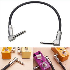 Timeproof Right Angle'Guitar Effects Instrument Pedal-Patch Cable Lead Cord TK
