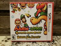 Nintendo switch Mario and Luigi: Bowser's Inside Story NEW