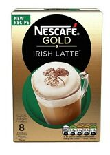 3 x Boxes  Nescafe Gold irish Latte  8 Sachets  Instant Coffee Drink.P&P UK