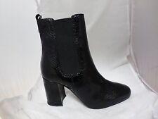 River Island 'DENMARK' Black Ankle Boots UK7 EU40 JS22 90