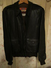 AMERICAN COOPER BROWN LEATHER FLYING JACKET,A-2,SIZE 44 LONG,BOMBER FLIGHT