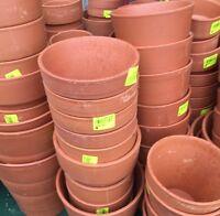 Lot Revendeur Destockage Palettes 18 Pots En Terre Cuite differentes tailles