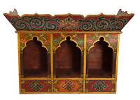 Tempio Altare Tibetano bouddhiste-3 Incavi E tiroirs-70x50cm-8405 -hg 31