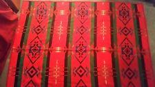 "Vintage Pendleton Beaver State Wool Reversible  Blanket 76"" x 65"""