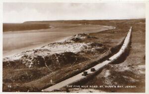 Channel Islands Postcard - The Five Mile Road - St Ouen's Bay - Jersey - TZ6341