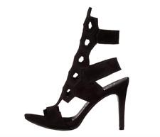 Pedro Garcia Salvia Women's Black Suede Heel Sz 37 EUR 1073