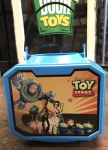 Disney Pixar Toy Story Halloween Large Blue Bucket Trick Or Treat Candy Bag 2009