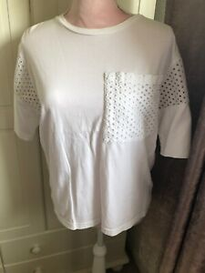 Next Ladies White Top Size 10