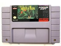 Secret of Mana (Super Nintendo SNES, 1993) Tested Cartridge Only - Authentic!