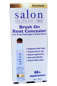 Salon on 5th Ave NYC dark blond Brush on root concealer 40+ applications