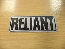 Reliant Black & Grey /Silver Badge Sticker Decal 29052 Robin Rialto