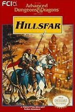 ***ADVANCED DUNGEONS AND DRAGONS HILLSFAR NES NINTENDO GAME COSMETIC WEAR~~~
