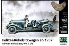 MasterBox MB35101 1/35 Polizei-Kübelsitzwagen ab 1937 Mercedes-Benz 170 WWII
