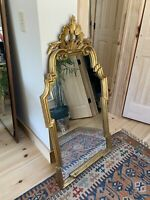 "Carvers' Guild Mirror Provence 25""x49"" Italian Gold Leaf"