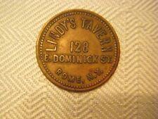 Lindy's Tavern, 128 E. Dominick St., Rome, NY., GF 25 Cents in Trade